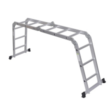 Good quality 100% for Aluminum Multipurpose Ladder Aluminium Alloy Multi-purpose Step Ladder export to Djibouti Factories