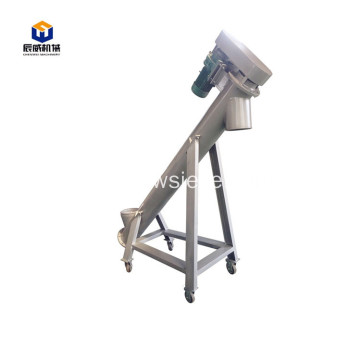 stainless steel auger feeder grain screw conveyor