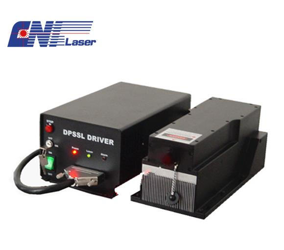 long pulse duration 266nm Q-switched marking laser