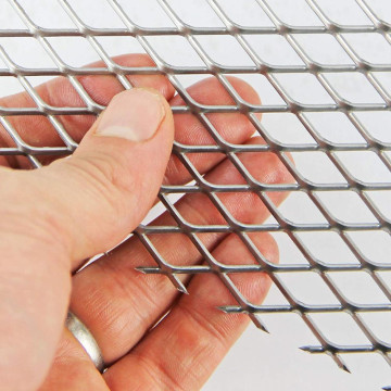 Diamond Stainless Steel PVC Coated expanded metal mesh