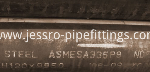 Alloy Steel pipe A335 P9