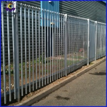 High Permance for Palisade Fence Panels Hot Dipped Galvanized Anti Climb Palisade Fences export to Bosnia and Herzegovina Manufacturers