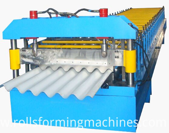 Corrugated Sheet Roll Forming Machine Roof Panel Machine