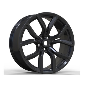 Alloy Land Rover Replica Wheels 22x10 Black