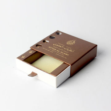 Custom Luxury Sliding Cardboard Packaging Makeup Gift Box