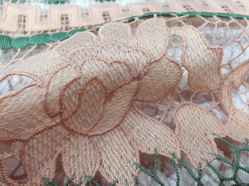 Chemical Lace Embroidery Fabric