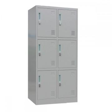 6 Door Metal Locker