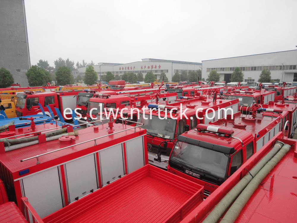 fire truck in stock