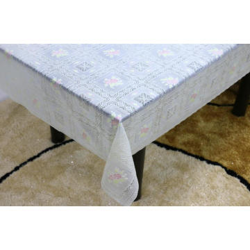 Printed pvc lace tablecloth by roll singapore