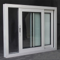 Chinese high level double glazed upvc sliding windows Foshan factory