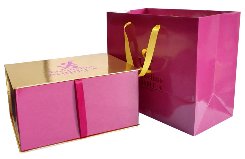 Custom top grade paper box with nice printing