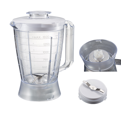 1.5L plastic jar rotary switch food blenders