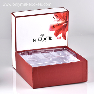 Custom Boxes With Plastic Blister For cosmetic Packaging