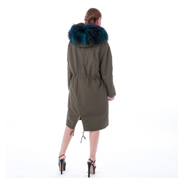 Fashion fur winter outwear