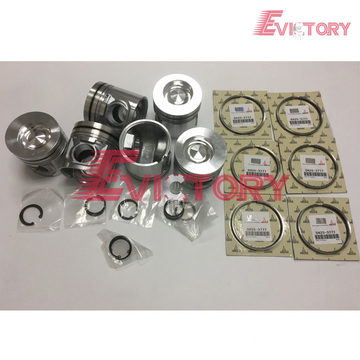 excavator D7D engine gasket bearing piston ring liner