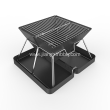 High Quality for China Portable Charcoal BBQ,Charcoal BBQ Grill,Charcoal Barbecue Grill Manufacturer High Compact Folding Charcoal BBQ Grill supply to Poland Importers