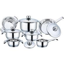 12 Pieces Wide Edge Cookware Set