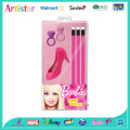 Barbie pink stationery set