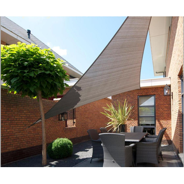 Sunshade sail for construction and courtyard