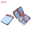 Promotional carbon steel manicure tools pedicure set