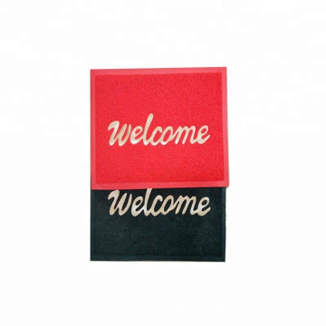 Factory non slip entrance pvc welcome mat