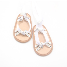 Sample Design Baby Girl White Sandals Shoes
