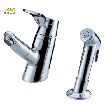 Bathroom Faucet With Shower Spray