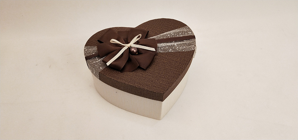 Chocolate Box Of Heart Shaped
