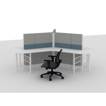 Aluminum low office workstation partition