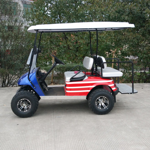 4 seat off road gas powered golfcart