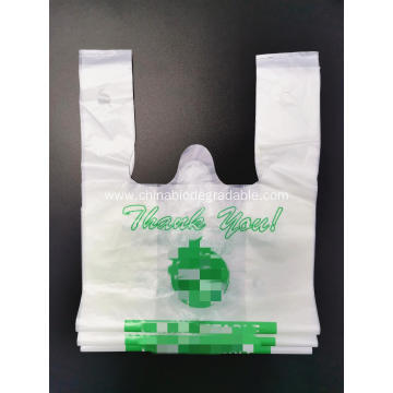 EN13432 Compostable Supermarket Plastic Bag