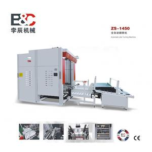 Automatic stacking machine for corrugated paper