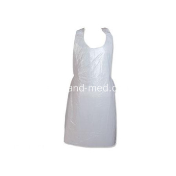 Desechable médico impermeable PE delantal