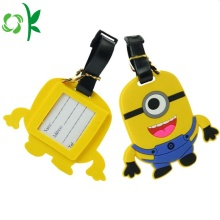 PVC Blank Promotion Gift Tag for Luggage Cartoon