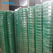 Factory PVC Coated Green Euro Garden Fence