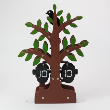 Tree Flip Clock for Decro