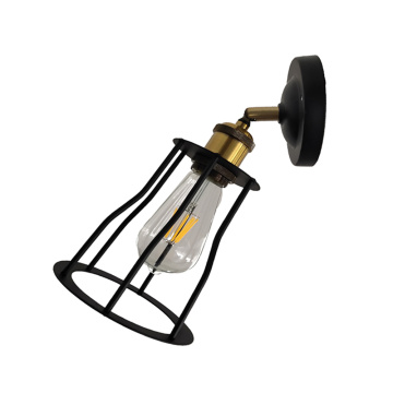 Iron Shade Vintage Indoor Wall Mounted Sconce Lamps