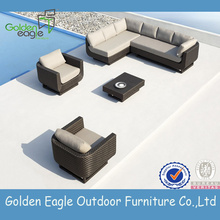 Hot selling attractive for Outdoor Sectional Sofa Garden Aluminium Rattan Furniture supply to United States Factories