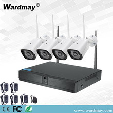 4CH 1.0MP Wireless Wifi Video Surveillance System