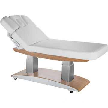 Wooden body massage table facial beauty bed