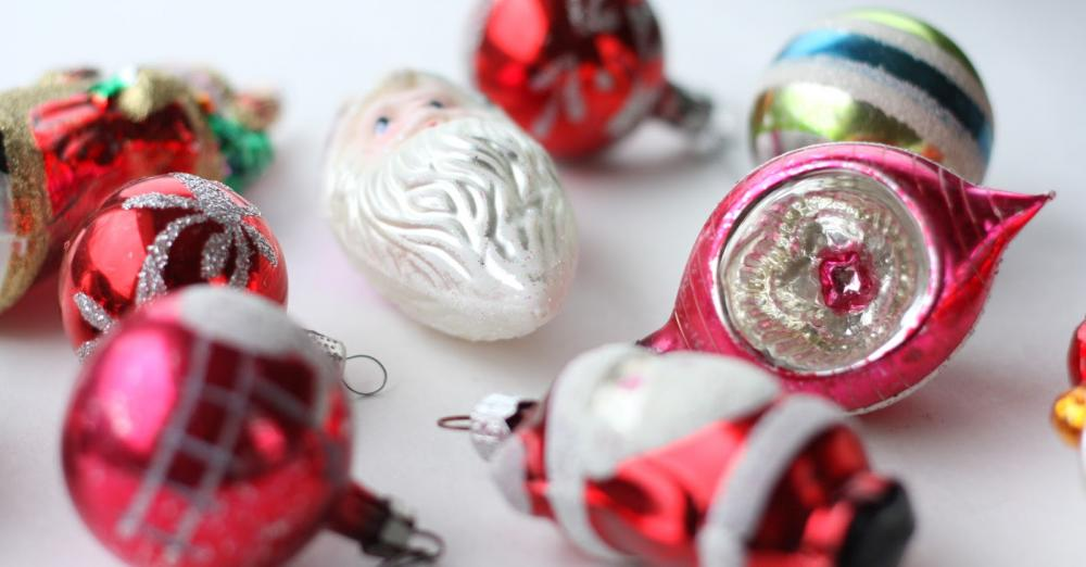 Vintage Glass Ornaments 1