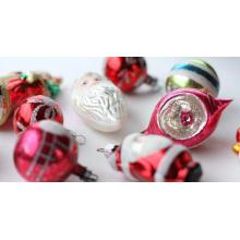 Factory Price for Christmas Ball Ornaments Bulk Vintage Antique Glass Reflector Vintage Christmas Ball Ornament supply to Sri Lanka Factory