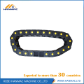 Black Open Nylon Electric Cable Drag Chain