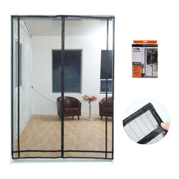 Fiberglass magnetic mosquito net door curtain