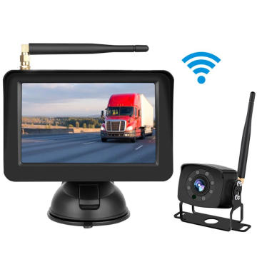 Vehicle Safety Vision Rear View Backup System 5inch Digital Wireless Monitor and Camera