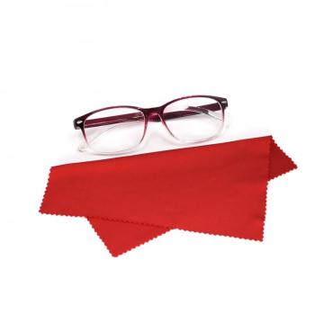 stock multi color premium microfiber eye glasses wiper