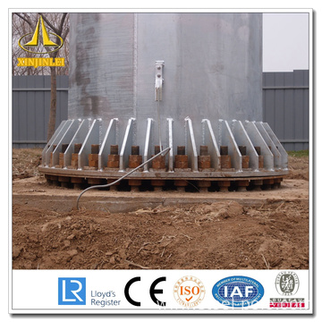 Octange Galvanized Transmission Steel Pole