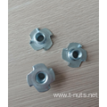 1/4-20 ZP Carbon steel  T-nut-4P