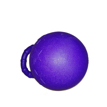 Horse play ball with large handle