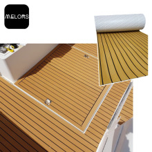 China Top 10 for Faux Teak Strip Best Material Garden Decking Deck Pad For Boat export to France Factory